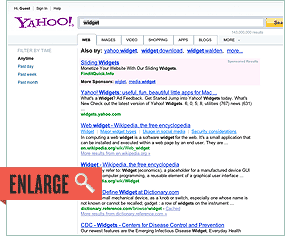 Yahoo Screenshot