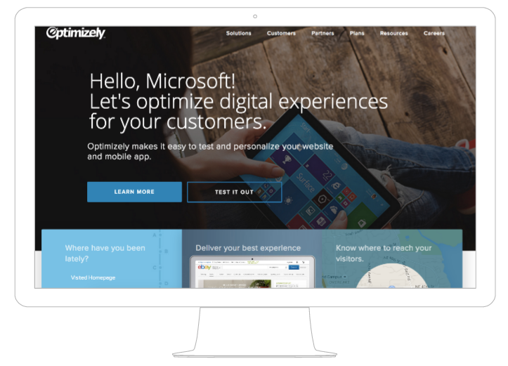 The Homepage is Dead: A Story of Website Personalization